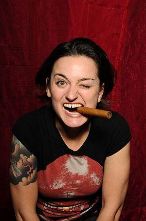 Comedian, Zoe Lyons, publicity shot