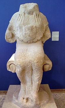 Statua di Atena seduta  Wikipedia