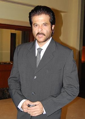 English: Anil Kapoor at the Indo Wales Friends...