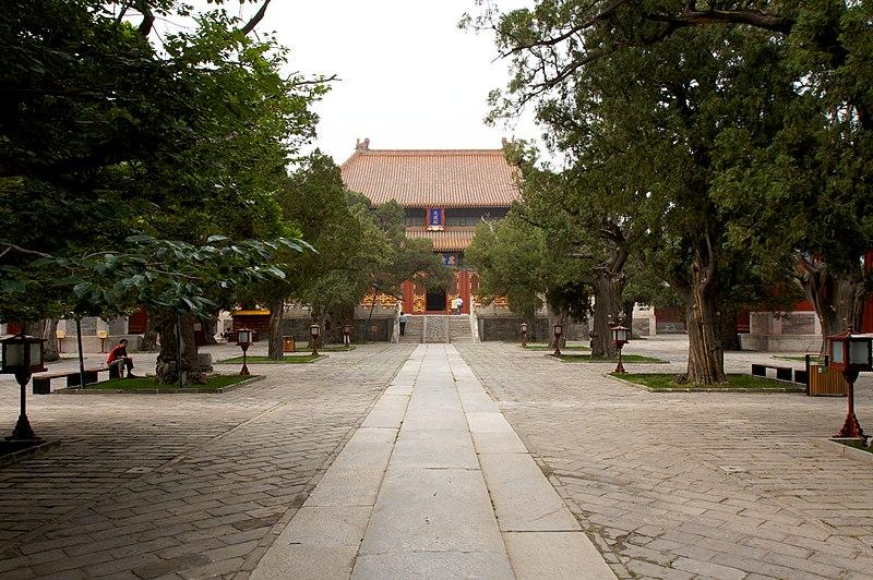 Kelenteng Kong Hu Cu Beijing/Beijing Kong Miao. Foto: wikipedia.org