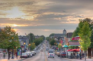 Kirkwood Ave. in Bloomington, IN. http://art.a...