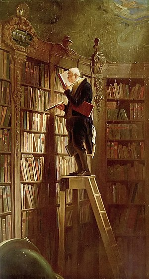 The Carl Spitzweg image strongly associated wi...