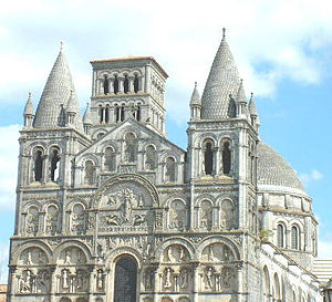 Angoulême Cathedral (1128)