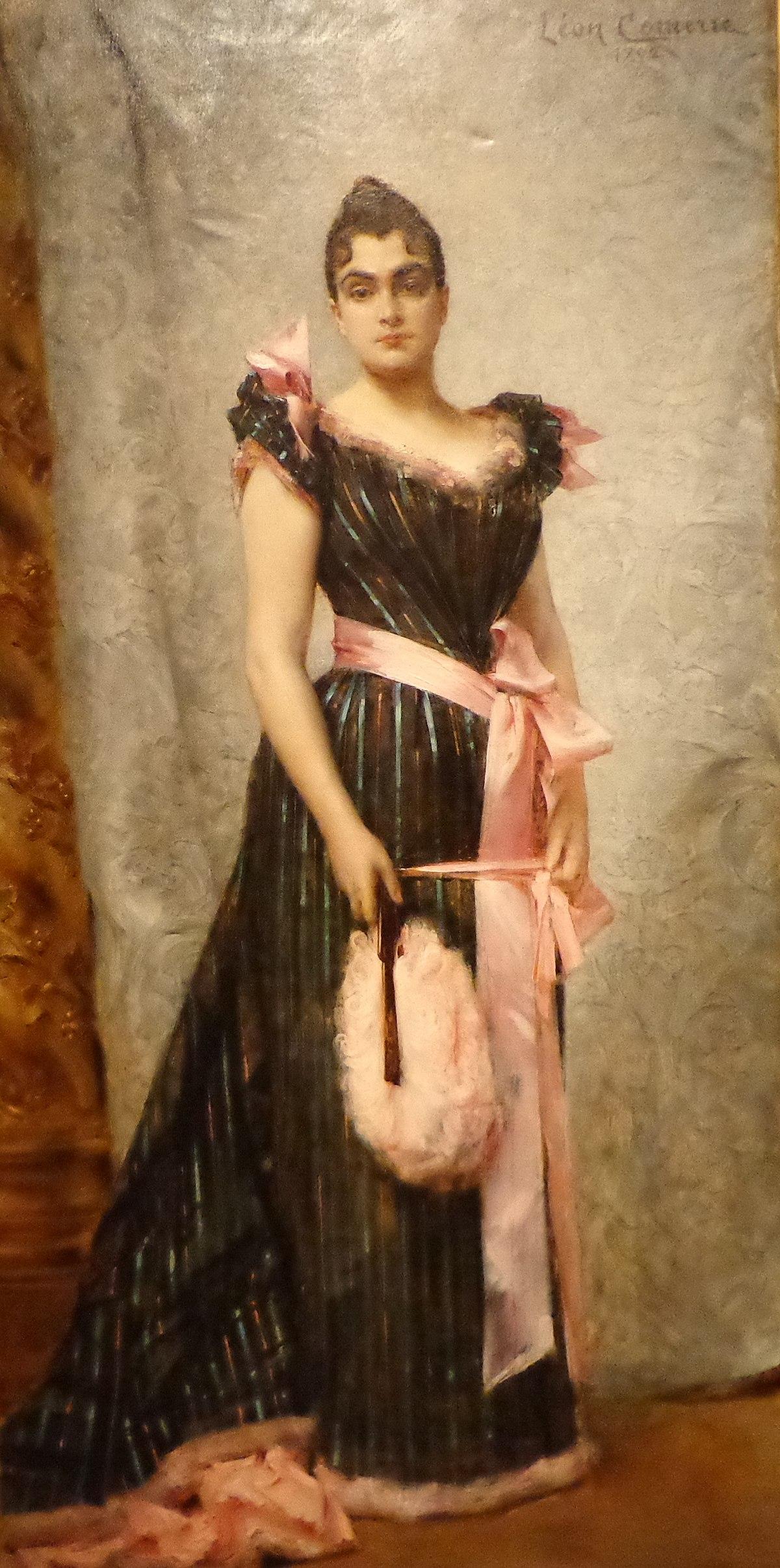 La Femme De L Artiste : femme, artiste, Fichier:Comerre,, Portrait, Femme, L'artiste,, StrasbourgMAMCS, (2).JPG, Wikipédia