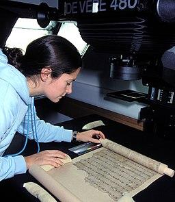 Digitisation of a Dunhuang manuscript