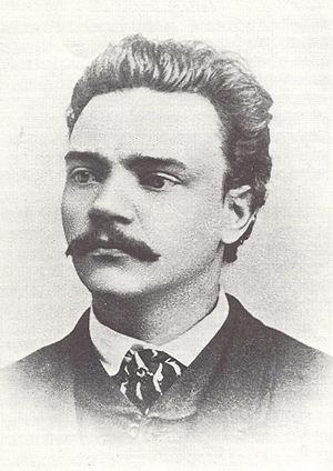 Foto ANton Dvorak in 1868
