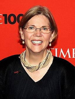 Elizabeth Warren by David Shankbone