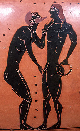 Erastes eromenos Staatliche Antikensammlungen 1468