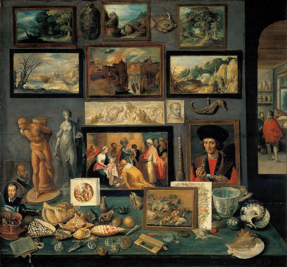 Frans Francken (II), Kunst- und Raritätenkammer (1636).jpg
