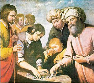 "Dipinto ""Giuseppe venduto ai fratelli&quo..."