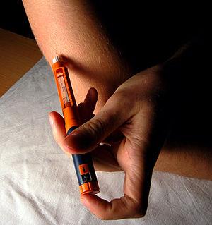 """Česky: Aplikace """"rychlého"""" inzulínu ..."""