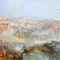 """""""Modern Rome - Campo Vaccino"""" by J.M.W. Turner"""