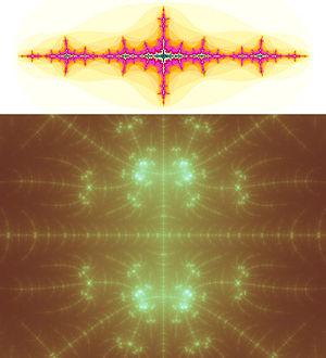 Juliamängden vid koordinaten (-1.404289, 0)