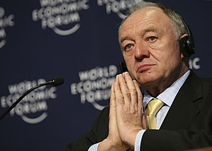DAVOS/SWITZERLAND, 26JAN08 - Ken Livingstone, ...