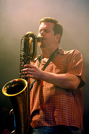 English: Ken Vandermark, moers festival 2010
