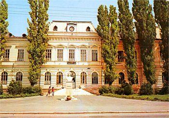The Gheorghe Rosca Codreanu Lyceum in Barlad (...