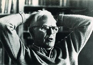 Mathematics and science writer Martin Gardner.
