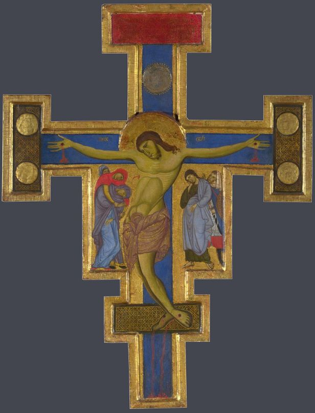 Master of St Francis. Crucifix