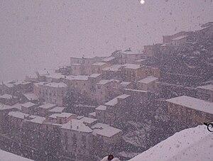 Italiano: Neve_a_Viggianello