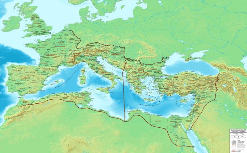File:The Roman Empire ca 400 AD.png