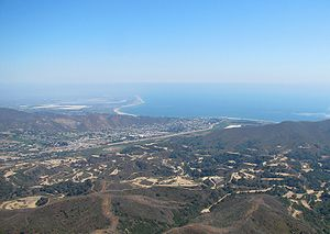 English: Ventura, viewed from the northwest; t...
