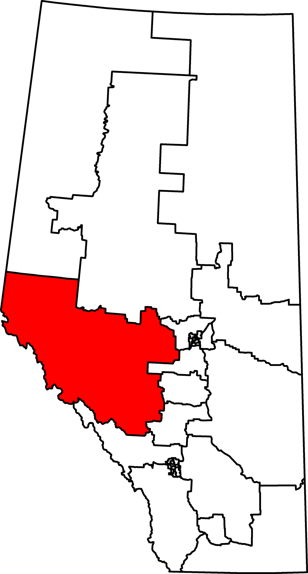 Yellowhead electoral district  Wikipedia