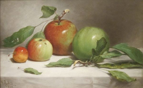 File39Still LifeStudy of Apples39 by William Rickarby