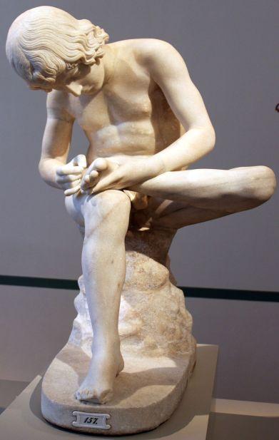 0150 Statue des Dornausziehers Altes Museum anagoria