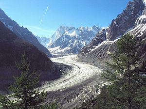 Français : Chamonix-Mont-Blanc (Haute-Savoie -...