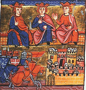 2nd_Crusade_council_at_Jerusalem, Conrad III, ...