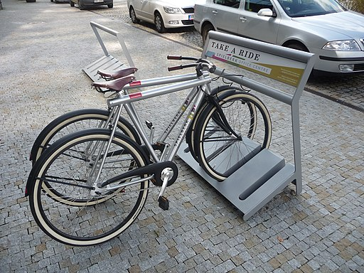 Bike rental, Spielberk Office Centre