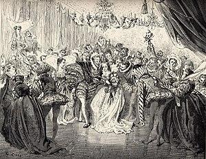 Illustration for Charles Perrault's Cinderella...