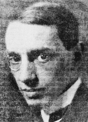 English: Herman Sörgel (* 2 April 1885 in Rege...