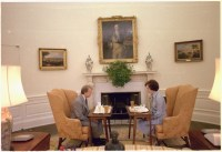 File:Jimmy Carter and Rosalynn Carter having lunch in the ...