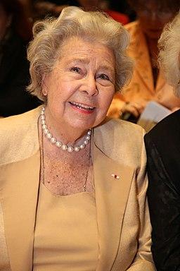 KS Christa Ludwig, geboren am 16. März 1928 in Berlin, deutsche Opern- und Konzertsängerin (Mezzosopran) wurde zur Ehrenpräsidentin der Hilde Zadek Stiftung ernannt. (17122239712)