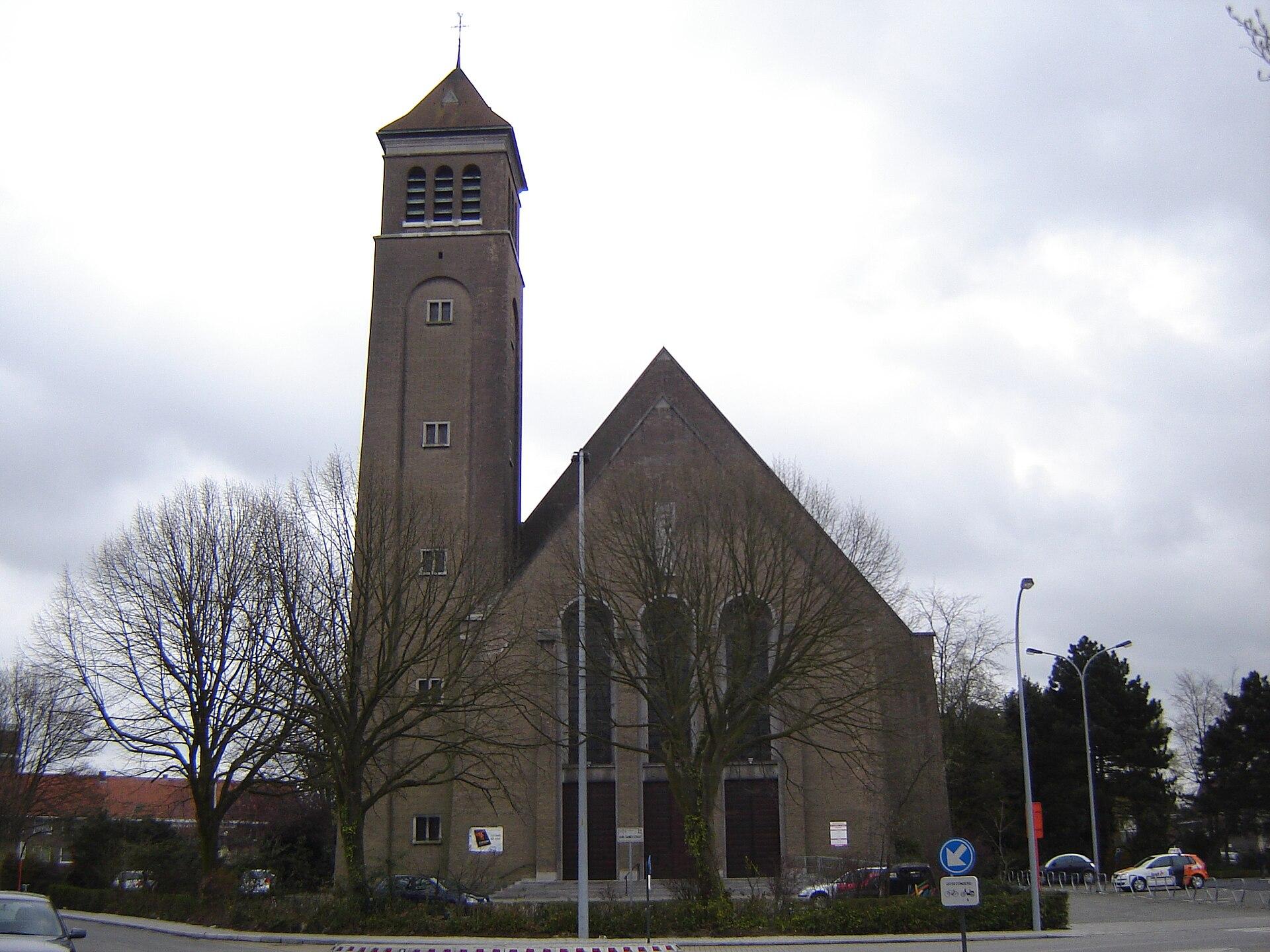 SintElisabethkerk Kortrijk  Wikipedia