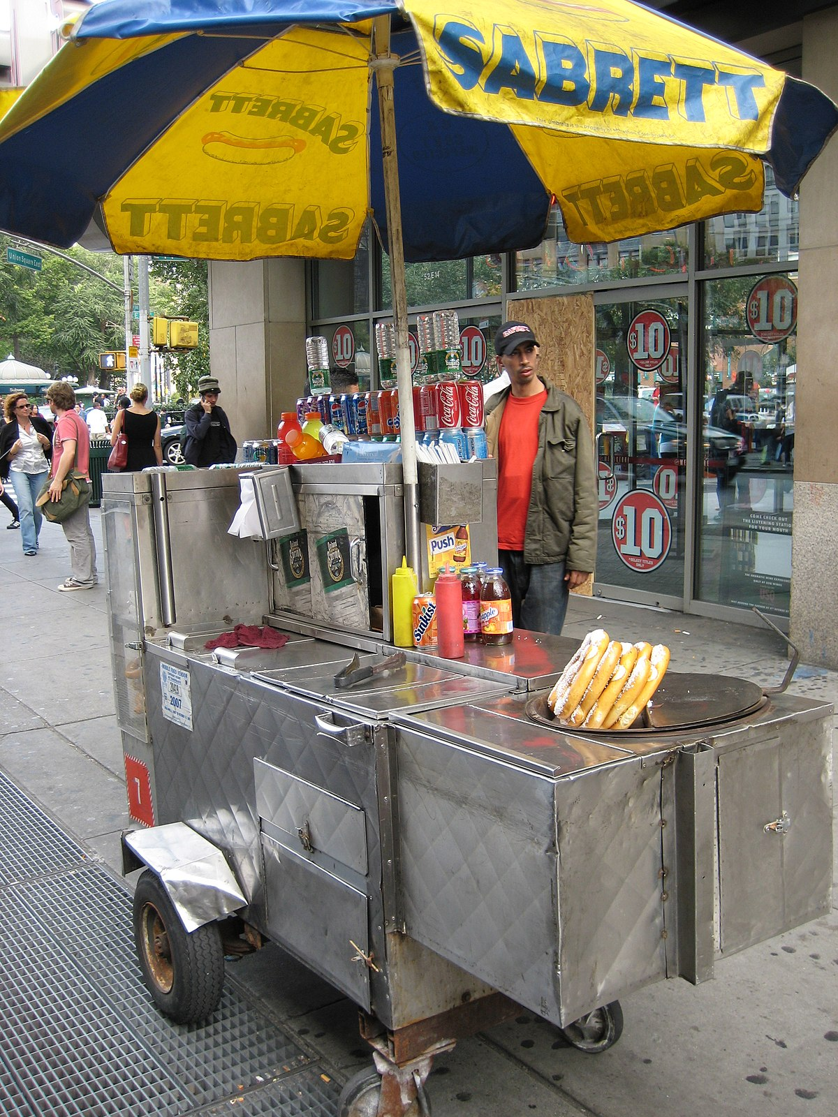Street Food Cart Design