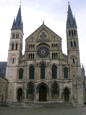 basilique saint Rémi - Reims