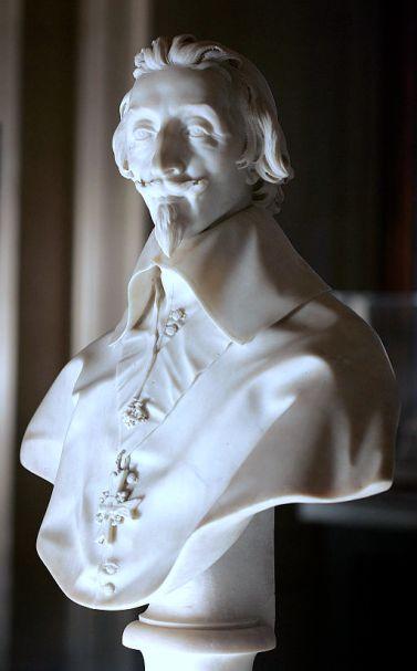 """""""Triple Portrait of Cardinal de Richelieu"""" by Philippe de Champaigne"""