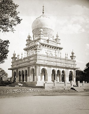 Saidani maa Dargah and Mosque Tomb at Twin cit...