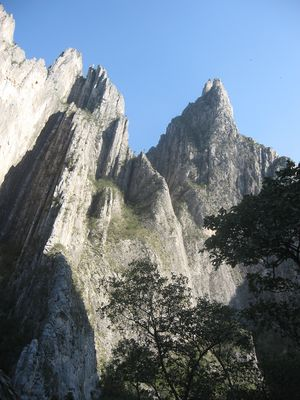 """Huasteca"" Mountains in the municipa..."