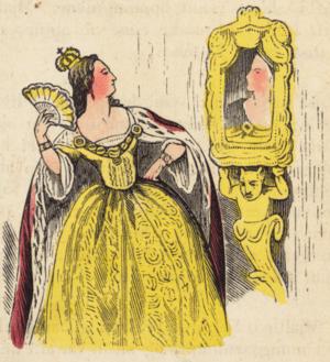 An illustration from page 30 of Mjallhvít (Sno...