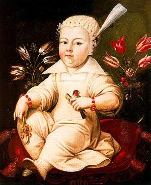 Portrait of Stanisław Bogusław Leszczyński.