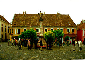 English: Szentendre town square