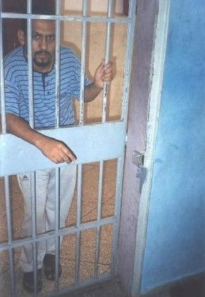 English: Human rights defender Ali Salem Tamek...