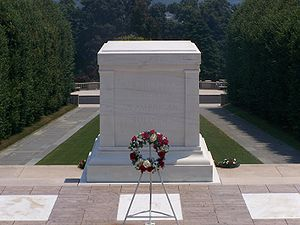 The Tomb of the Unknown Soldier in Arlington N...