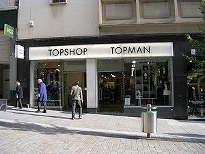 English: Topshop - Darley Street