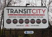 "English: ""Transit City"" billboard pr..."
