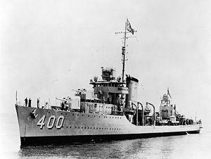 USS McCall DD400  Wikipedia