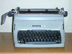 The Underwood Touch-Master 5 was among the las...